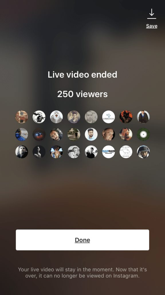 Instagram live, conversion, sales, engagement