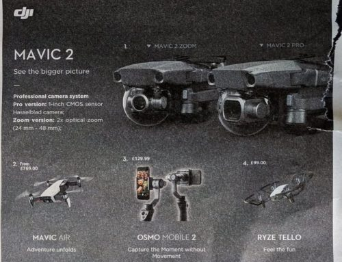 Whoops: UK Retailer Reveals New DJI Mavic 2 Before Official Release